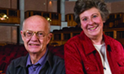 Bill Stolfus and Ann Richardson share an ear for music and a love for DU
